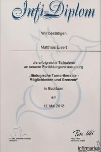 Tumortherapie Matthias Eisert