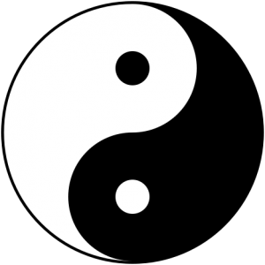 Yin Yang Symbol Naturheilpraktiker Aschaffenburg