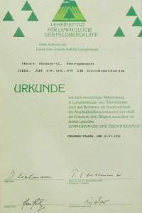 Lymphdrainage Ödemtherapeut Hans Bergmann
