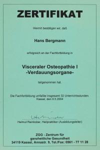 Osteopathie Hans Bergmann